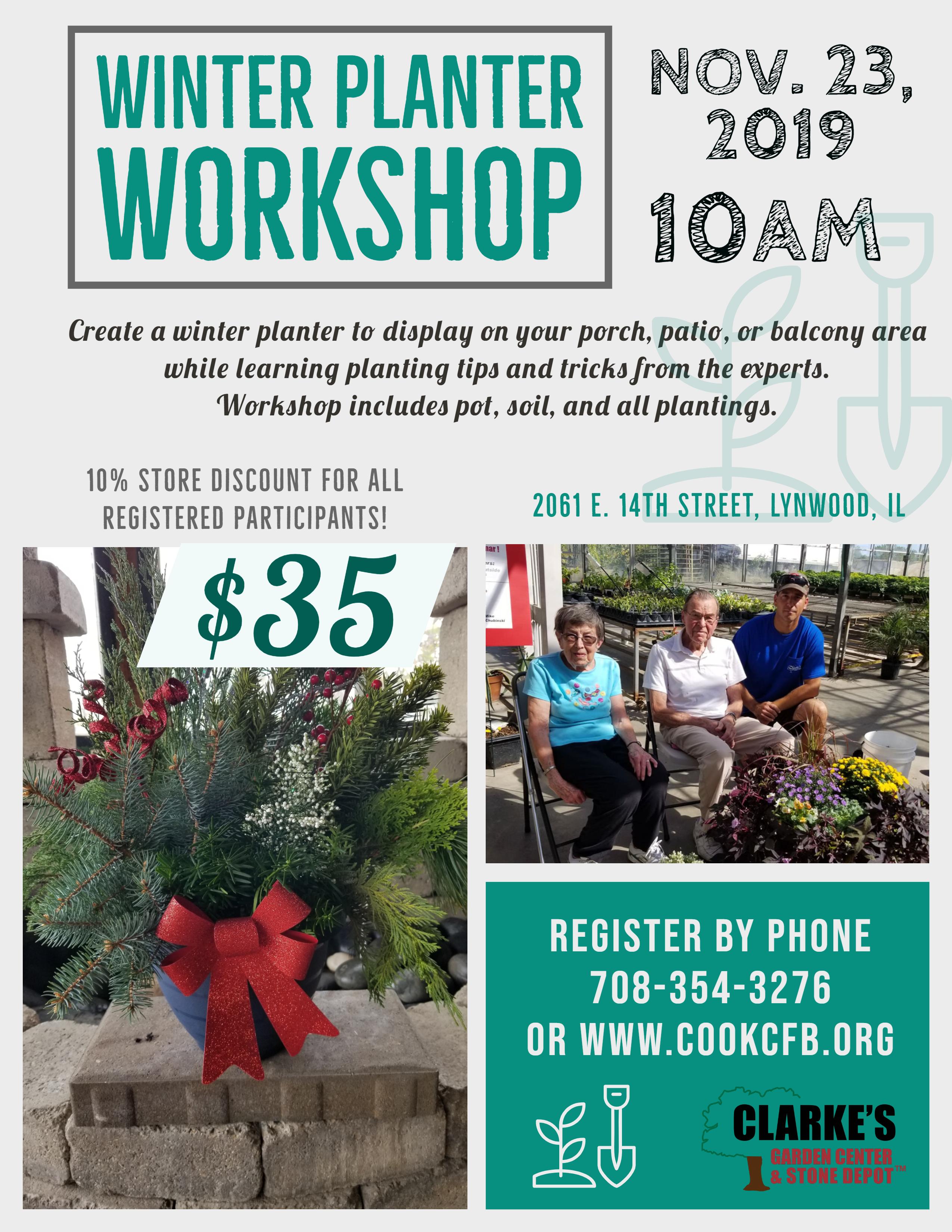 Nov 2019 Winter Workshop